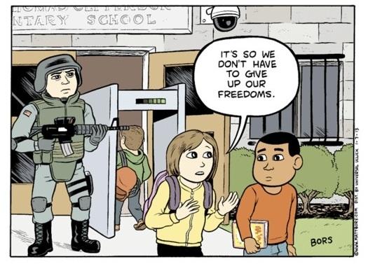 Gun Control Comics And Cartoons Bjorkbloggen