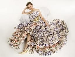 pengar klänning