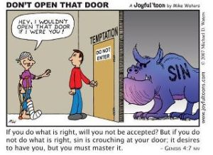 Synd i dörr